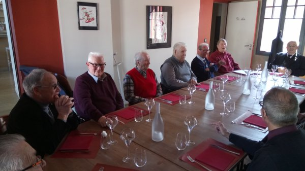 Repas du conseil d'administration de l'UFAFAC VG