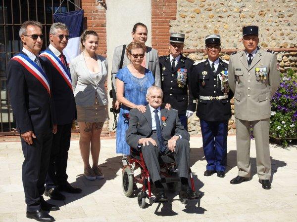 Légion d'honneur pour Jacques Lavayssière