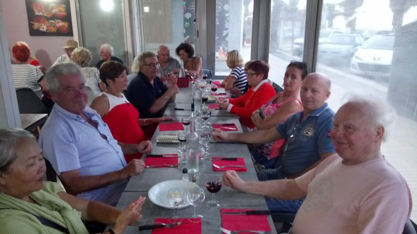 Repas de cohésion du comité de direction UFAC VG