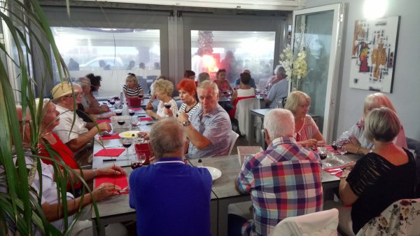 repas de cohésion du comité de direction