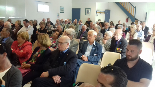 Photos repas Congrès départemental UFAC VG  22 AVRIL 2018