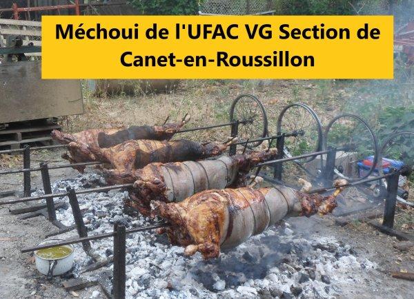 Méchoui de l'UFAC VG   Canet dimanche 17 juin Cabestany