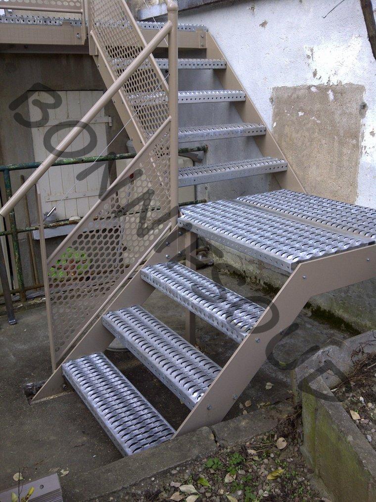 Bonnif 39 fabrication escaliers exterieur caillebotis for Fabricant escalier exterieur