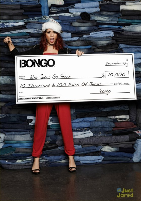 "Bongo ""Blue Jeans Go Green"" Event in New York 09-12-14"