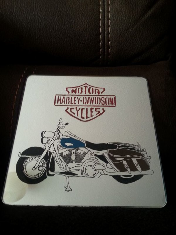 Miroir Harley