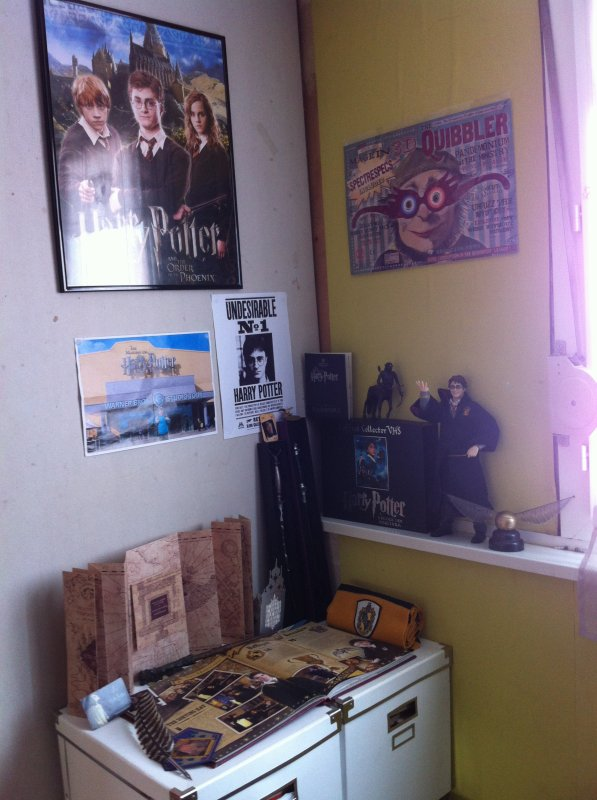 Chambre harry potter voila mon blog for Chambre harry potter