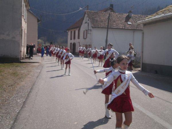 CARNAVAL A PLAINFAING LE DIMANCHE 25 MARS 2012