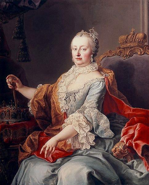 OoO Marie-Thérèse de Habsbourg (mére de Marie-Antoinette) OoO