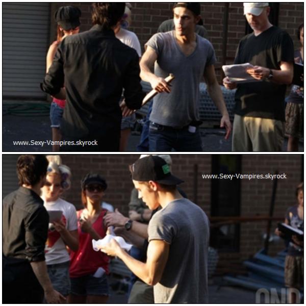 .  18 / 09 / 2010 : Photos du set de l'episode 2x02  .