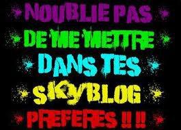 Hey twa la ! Pssst !!! Présente toi et donne ton avis sur mon blog =)