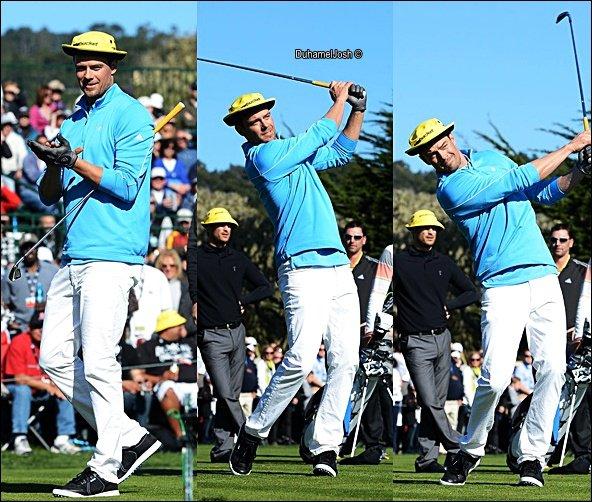. 09/02/2013 - Josh jouait au golf pour une oeuvre de charité à Pebble Beach, Californie.