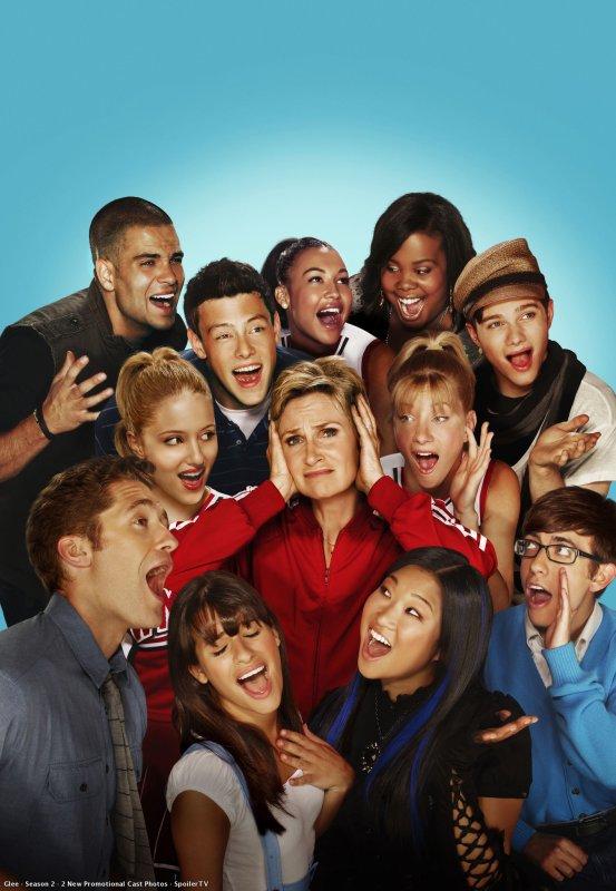 Une série que j'adore 'Glee'  ♥