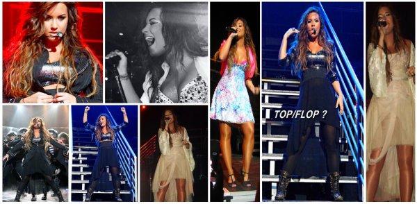 16.09.2011 ; Demi Lovato a donné son premier concert à New-York.