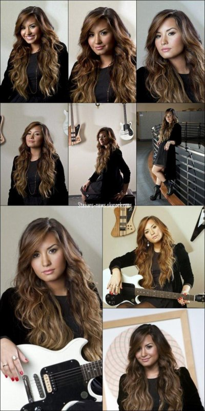"30.09.2011 ; Photoshoot : Découvrez le photoshoot de Demi Lovato pour ""Los Angeles Times"" par Kirk McKoy à New-York."
