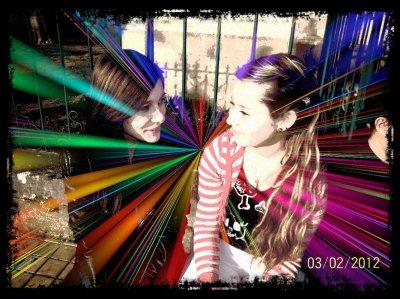 Mon rayon de soleil et moi! <3