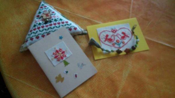 Carte de Noël et petit cadeaux