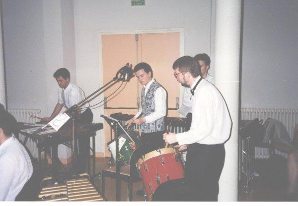 Christophe Merzet, David Bruley et Philippe Dubernard.