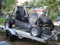 new project  buggy moteur 106 rallye