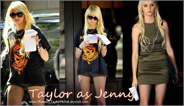 .Le 02/09/2010, Taylor etait sur le tournage de Gossip Girl à Manathan, tres jolie, hate de voir la saison 4 !.