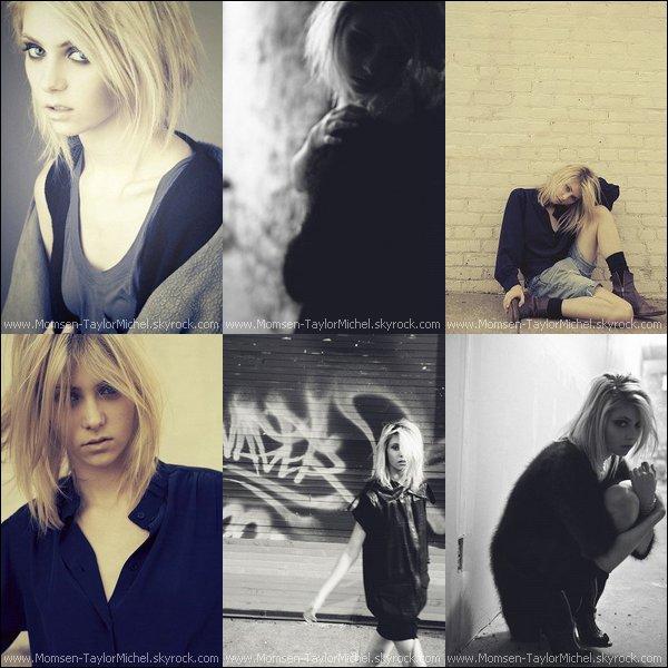 .En 2008, Taylor a fait un shoot professionnel pour la marque IMG Model, Wahou !______(Premiere Partie).