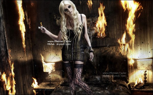 .09/2010, The Pretty Reckless ont realisé un photoshoot pour le magazine Heat et OMG Wahou, parfait !.