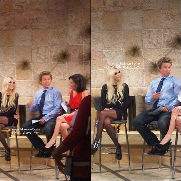 .Le 20/09/2010, Taylor etait sur le plateau de Acces Hollywood pour parler de Material Girl. Magnifique !.