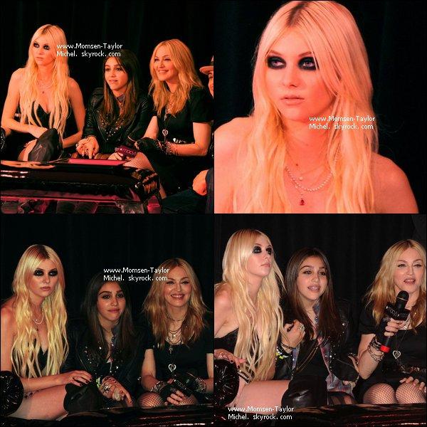 .Le 22/09/2010, Taylor, Madonna et Lourdes etaient au lunch de Macy's en promo de Material Girl..