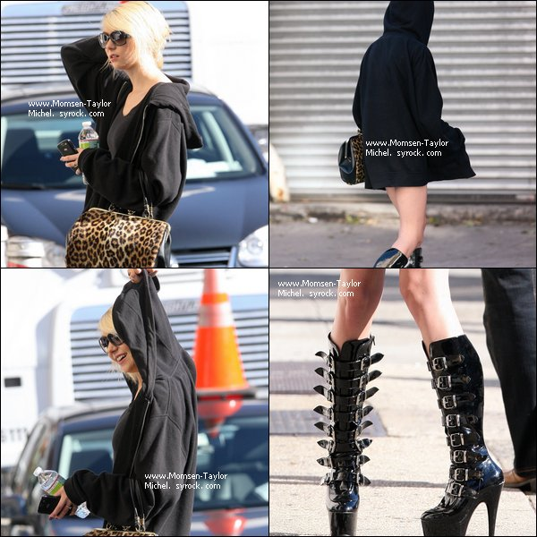 .Le 06/10/2010, Taylor et ses affreuses bottes etaient sur le tournage de Gossip Girl à New York City..