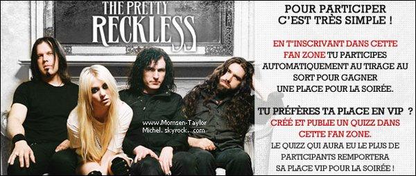 .Clique sur l'image et tente de gagner ta place pour le concert des TPR !.