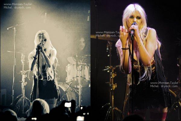 .Le 09/12/2010, les Pretty Reckless étaient en concert à Paris, à La Maroquinerie. Impressionnants !.
