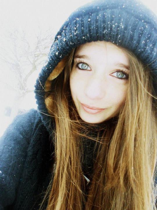 i love snow ! :)