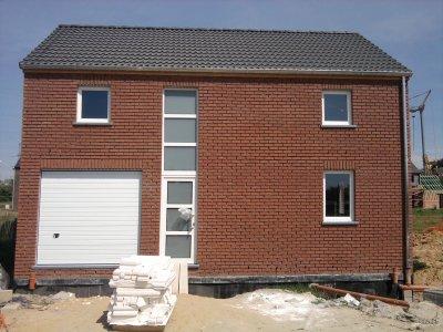 Et voilà notre maison en construction