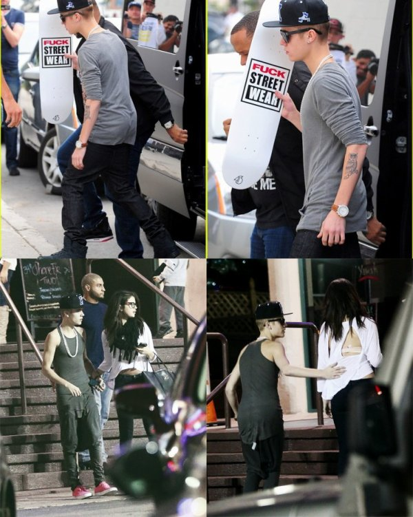 Justin dans Hollywood