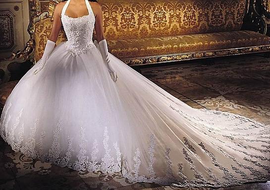 Ma belle robe de mariée :)
