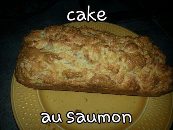 Mon petit cake au saumon