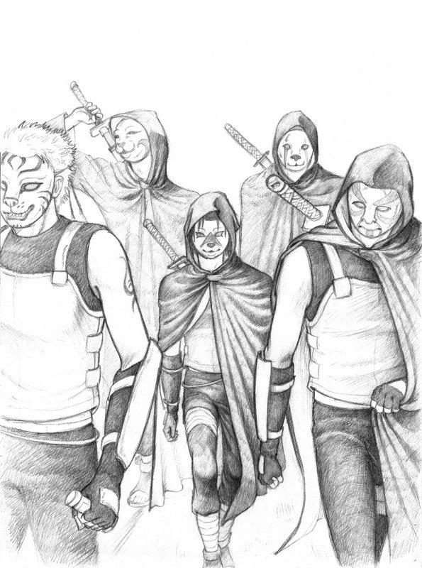 Chapitre 11: La première mission de l'Anbu Naruto (partie 1)