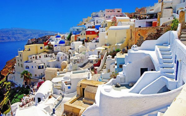 Travel Trivia : Santorini,Greece