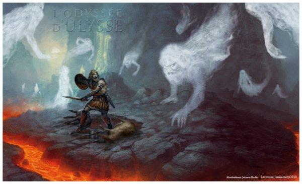 Quel est l'intérêt de la descente aux enfers d'Ulysse (au chant XI) ?