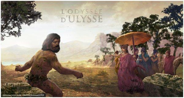 La rencontre d'Ulysse et Nausicaa