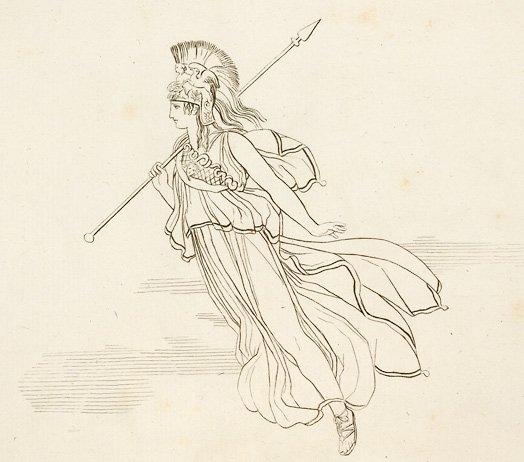 Qu'est-ce que la déesse Athéna représente pour Ulysse dans les chants V à XIII de l'Odyssée ?