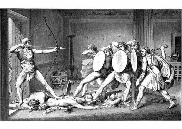 La mort dans l'Odyssée