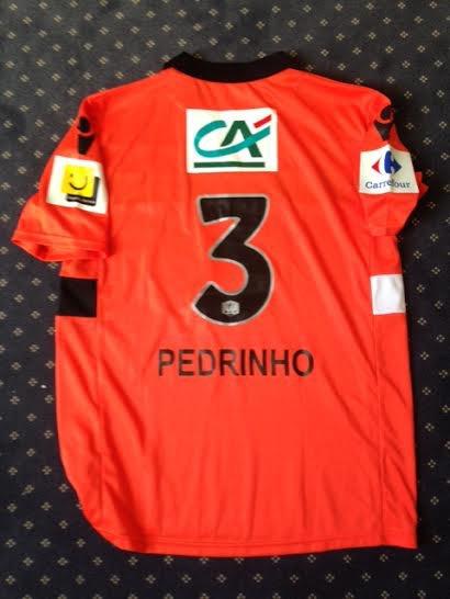 Maillot porté par Pedrinho en 1/2 finale contre Evian