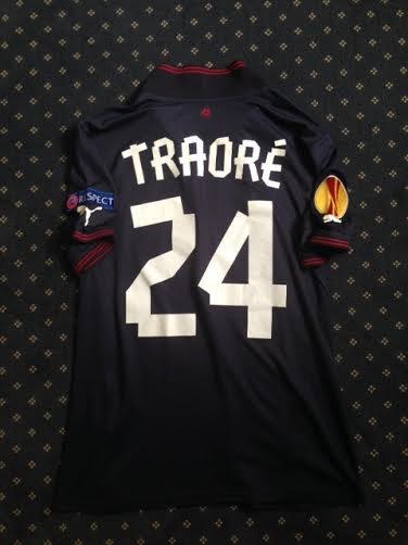 Maillot porté par A.Traoré en Europa League