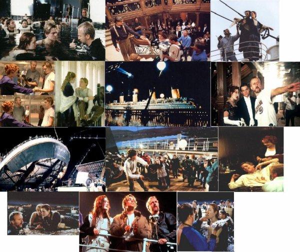Sur le tournage de Titanic...