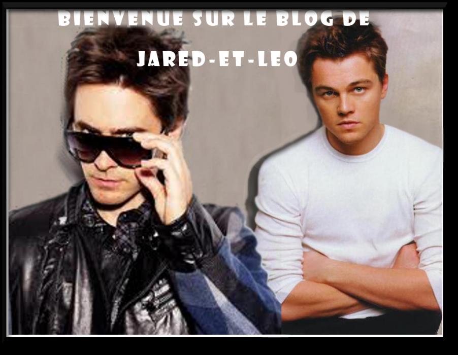 Jared Leto et Léonardo Dicaprio
