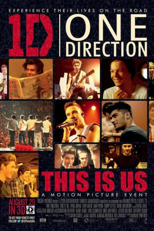 ☼ One Direction le Film : This Is Us
