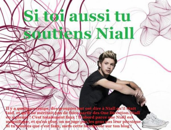 Les sal*pes qui jugent Niall !!!