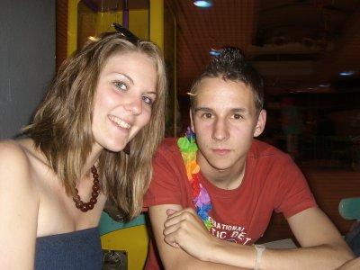 moi et babeth :D