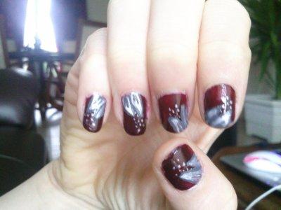 Nail art ♥    Raté ... :/