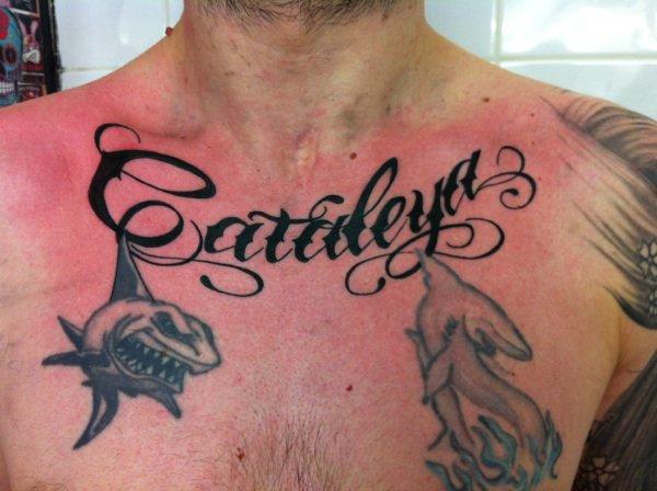 tatouage collier prenom